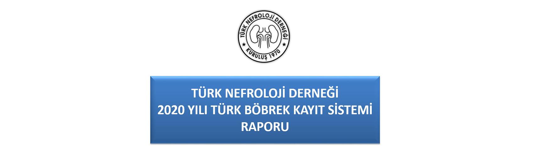 Türk Nefroloji Derneği Slide: TND Ulusal Kayıt Sistemi 2020 yılı verileri sunulmuştur