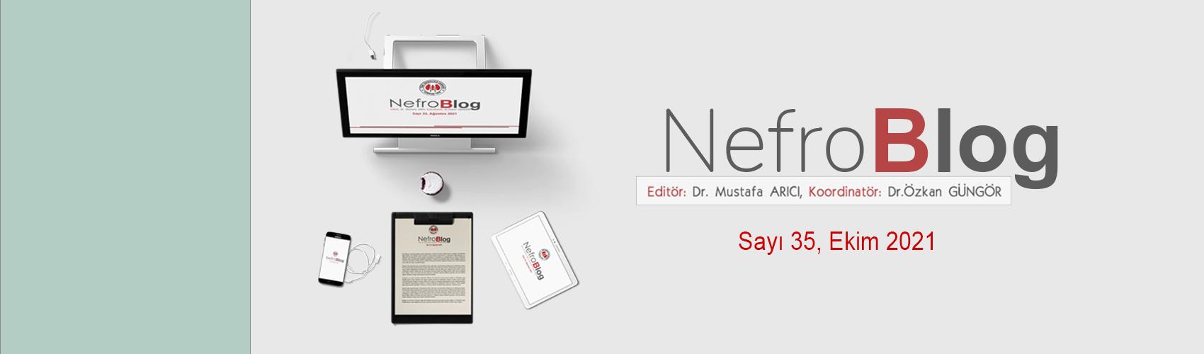 Türk Nefroloji Derneği Slide: Nefroblog 35. Sayısı ile Sizlerle